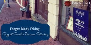 Forget Black Friday, Support Small Business Saturday