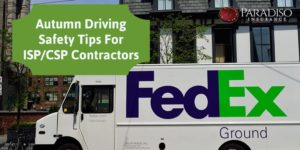 Autumn Driving Safety Tips for ISP/CSP Contractors