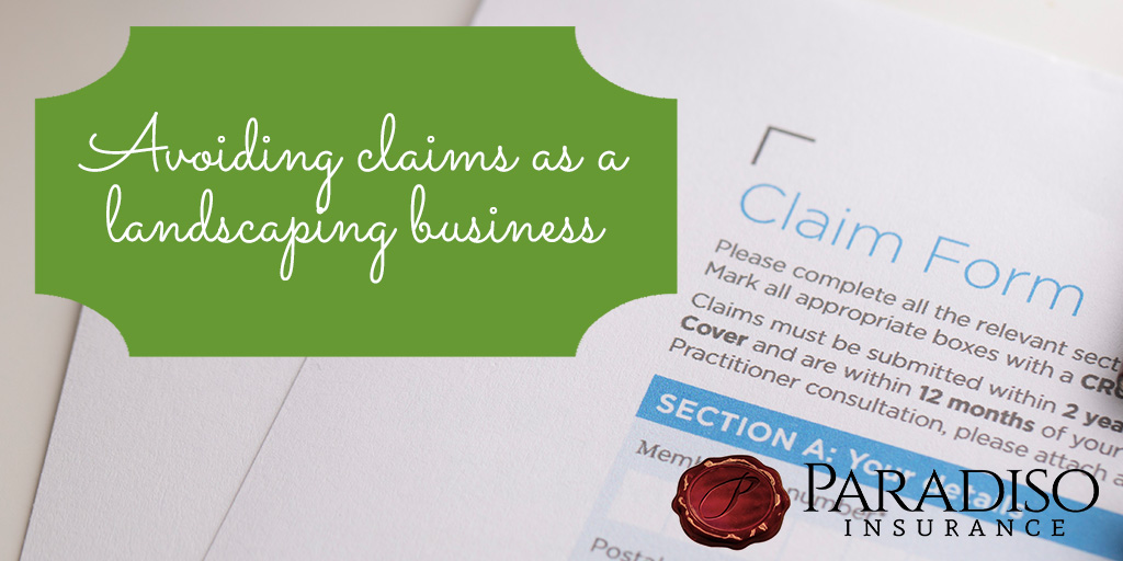 Protecting Your Landscaping Business from Claims