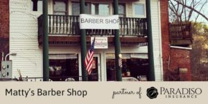 Partners of Paradiso: Matty's Barber Shop of Stafford, CT